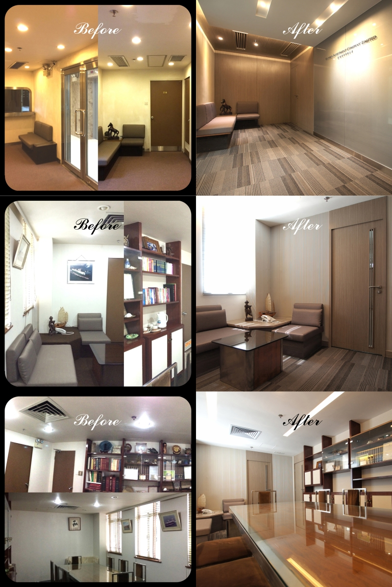 Before Amp After Office Renovation Millwork Interiors